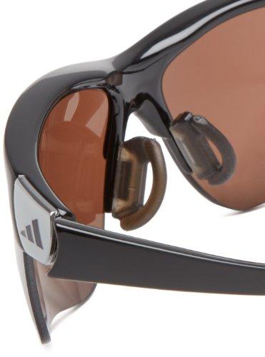 adidas de Rectángulo gafas S adivista shiny sol black FTzyrFpS