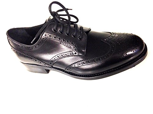 Harris Scarpe Uomo Anniversary Brooks all Derby Vitello Nero Classico U15HA08 (5,5UK 39,5IT)