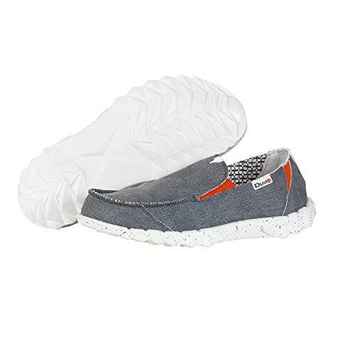 Dude Shoes Womens Farty Youth Funk Grey Slip On / Mule Grey