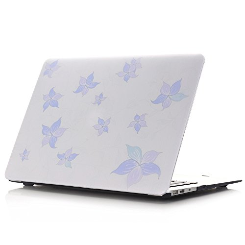 New Mac 12-Inch Case,IVY [Star Flower] Hard Case Cover For MacBook 12