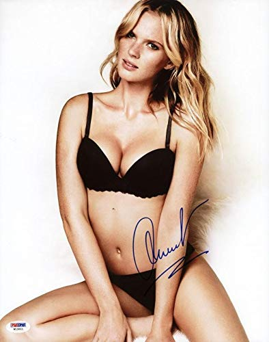 Anne V Vyalitsyna Si Swimsuit Autographed Signed Authentic 11x14 Photo - PSA/DNA ()