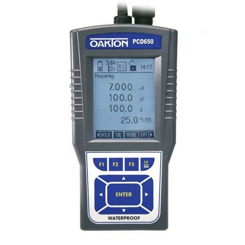 Oakton WD-35434-70 Waterproof PCD 650 pH/Conductivity/Dissolved Oxygen Meter Kit