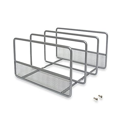 ORG Vertical Mesh Durable, Neat, Kitchen Organizer Rack  Includes Optional  Mounting Feature