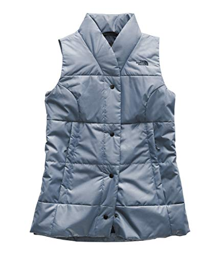 (The North Face Women's Femtastic Insulated Vest Urban Navy Small)