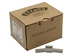 Box of 25 Coated IAW Wheel Weights 45 gram