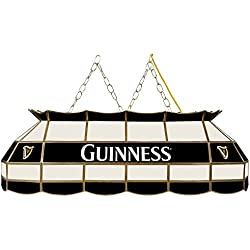 "Trademark Gameroom Guinness 40"" Handmade Tiffany Style Lamp"