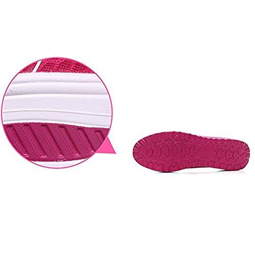 Sportive Zeppa Scarpe Ginnastica Fitness Platform Basculanti Mesh Dimagranti Sneaker Summer Scarpe da Rosa Donna znwP0IqFn