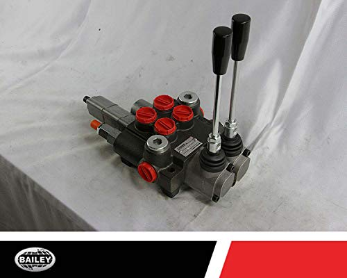 Chief P40 G Series Directional Control Valve Loader: 2 Spool, 3 Position Spring Center and 4 Position Float, 10 GPM, 3625 PSI, SAE #10 Inlet and Outlet, SAE #8 Work Ports, 220956 by Chief (Image #3)