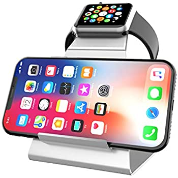 Amazon Com Mercase Apple Watch Stand With Aluminum 2 In 1