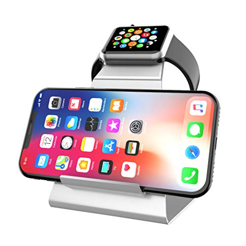 XUNMEJ Watch Stand for Apple Watch Charging Dock Stand Brack