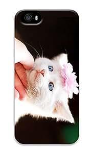 Personalized iPhone 5 3D Custom Case Girl Cat