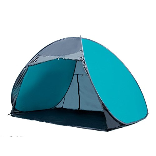Lishangl ビーチテント、屋外の自動テント野生の釣りのテント雨の紫外線保護テント無料構築するために無料オープンテント (Color : 4)  4 B07QHCGV7C