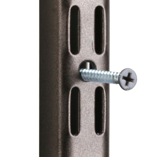Knape & Vogt John Sterling CD-0142-BRZ Dual Track Standard and Hang Track Screws, Bronze
