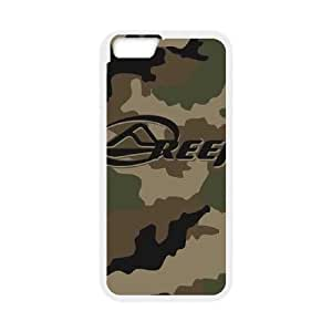iPhone 6 Plus 5.5 Inch Cell Phone Case White Reef Green Camo Khyox