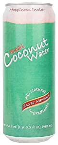 Taste Nirvana Real Coconut Water, 16.2 Ounce (Pack of 12)