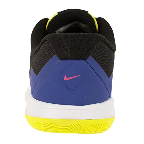 Nike Flex Experience 4 Print (GS), Scarpe da Corsa Uomo Black/Deep Night Fire/Blue