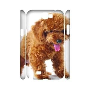 DIY Case for Samsung Galaxy Note 2 N7100 3D - Cute dog ( WKK-R-79961 )