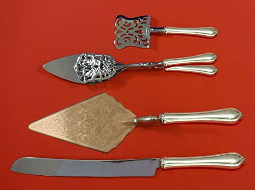 (Paul Revere by Towle Sterling Silver Dessert Serving Set 4pc Custom Made)