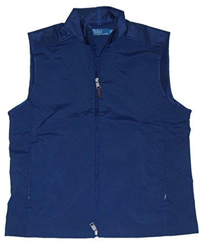 RALPH LAUREN Polo Mens Big Pony Golf Athletic Full-Zip Jacket Vest Navy - Pony For Big Polo Men Vest