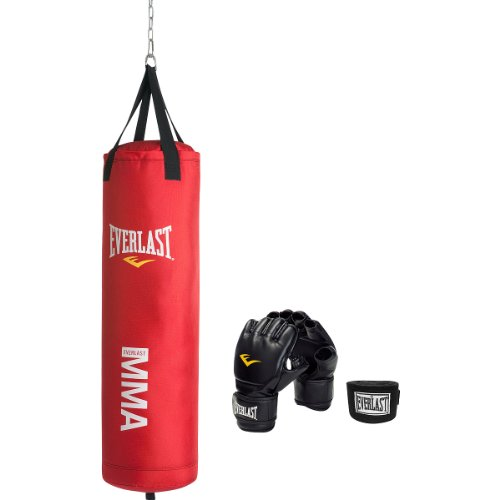 Everlast Mixed Martial Arts Heavy Bag Kit,Red, 70-Pound) for sale  Delivered anywhere in USA