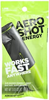 AeroShot Energy, Lime, .01 oz. (Pack of 12) (B007Y4BIAQ) | Amazon price tracker / tracking, Amazon price history charts, Amazon price watches, Amazon price drop alerts