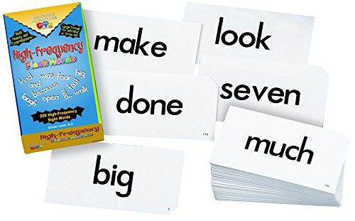 Learning Advantage 8603 High Frequency Flash Words Card (Card Advantage compare prices)