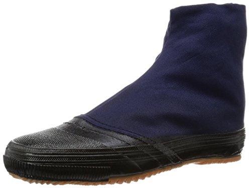 dicker Sohle Klettverschluss Navy und Schuhe Navy Japanische Tabi mit Senmaru MARUGO IzY8xa