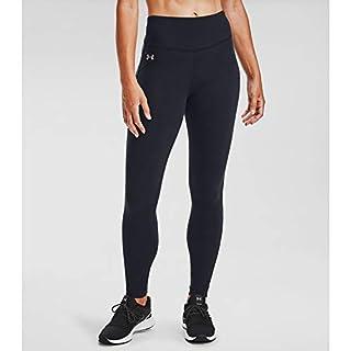 Under Armour Women's Favorite High Waisted Leggings , Black (001)/Slate Purple , Small