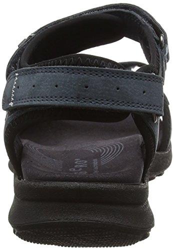 Legero Siris Dames Open Sandalen Met Sleehak Blauw (azzurro 78)