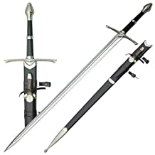 Medieval Sword with Knife In The Scabbard