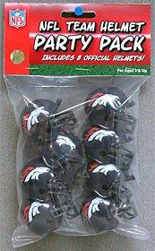 Riddell 9585533010 Denver Broncos Team Helmet Party Pack