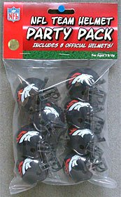 Riddell 9585533010 Denver Broncos Team Helmet Party Pack