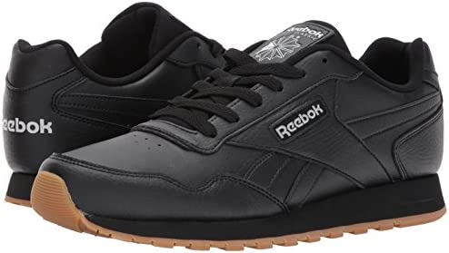 418OwiprXML. AC Reebok Men's Classic Harman Run Sneaker    Reebok Men's C 85 Shoes, a new rendition of Reebok men's classic Club C kick. These joggers with a soft leather upper dole out superior support and quality. The midsole cushions every step, and a timeless Reebok window box logo amps up the look for casual-yet-sophisticated style. Reebok men's casual shoes feature the molded sockliner and durable rubber outsole which keeps you going all day, every day. Ideal for athleisure, heritage style, and everyday wear. ImportedRubber soleShaft measures approximately low-top from archSynthetic leather upperLow-cut design for a sleek and sophisticated silhouetteRemovable OrthoLite insoles for lasting cushioning and breathability
