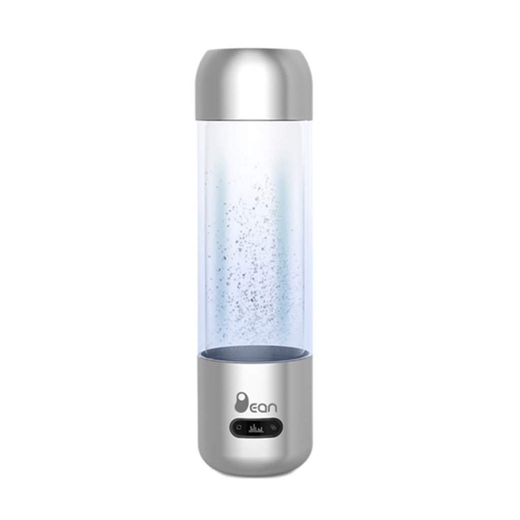 【感謝価格】 電解水素水マグ、ポータブルホーム負イオン品質 USB 健康スマート充電ガラスギフトやかんアルカリ酸素発生器500ml 容易にカップ (25 7Cm),Silver ※ 7Cm),Silver ※ 容易にカップ Silver B07GCNBKMF, SHELTER:febaa93b --- a0267596.xsph.ru