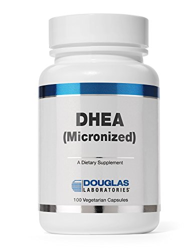 Douglas Laboratories - DHEA 25 mg - Micronized to Support Immunity, Brain, Bones, Metabolism and Lean Body Mass* - 100 Capsules