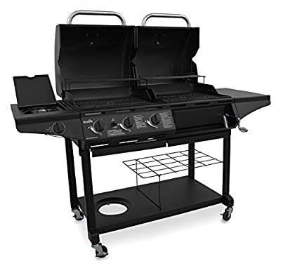 Char-Broil 463714514 Charcoal/Gas 1010 Grill Combo