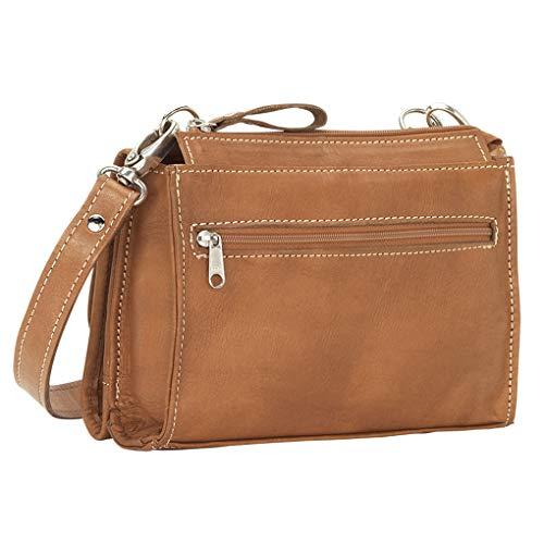 Bundle Hobo Tan Handbag American Purse Holder Harvest Shoulder West Moon Leather xqTFw01ZB