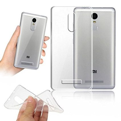 meet 2f9fb b5786 SDO™ Dotted Finish Ultra Thin Silicone Soft Jelly Case Back Cover for  Xiaomi Redmi Note 3 - Transparent