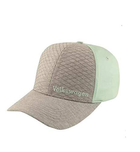 Volkswagen Genuine VW Quilted Jersey Cap Baseball Hat - Mint Green (Quilted Jersey)