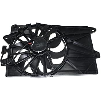 Go-Parts » 2012-2015 Fiat 500 Engine/Radiator Cooling Fan Assembly -