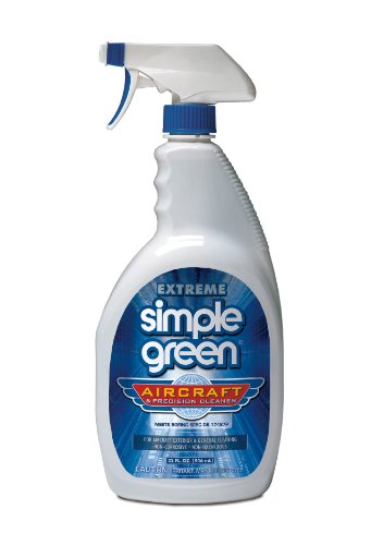 Simple Green 13412 Extreme Aircraft & Precision Equipment Cleaner, 32 Oz Bottle, Trigger Spray (Case of 12)