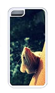 LJF phone case iphone 6 4.7 inch Case, Personalized Custom Rubber TPU White Case for iphone 6 4.7 inch - Sunset Mice Cover
