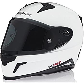 Nexx X.R2 Plain Full Face White Motorcycle Helmet (Large)