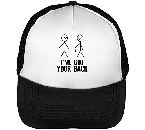 I'Ve Got Your Back Gorras Hombre Snapback Beisbol Negro Blanco