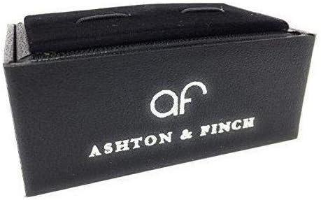 Ashton and Finch Cl/é de Sol et Boutons de Manchette de Style cha/îne de Notes de Musique avec bo/îte-Cadeau