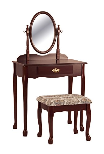 Price Tracking For Jrs Wood Vanity Set With Stool And