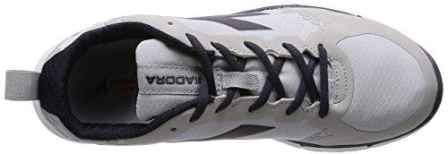 Diadora Nj-303-1 RS, Scarpe da Corsa Uomo Grigio/Nero