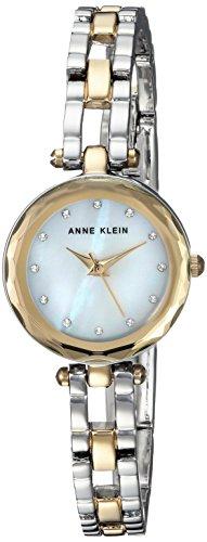 Anne Klein Women's  Swarovski Crystal Accented Two-Tone Open Bracelet ()