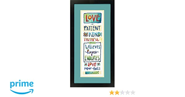 Counted Cross Stitch Kit LOVE IS... Dimensions New Release! I CORINTHIANS 13