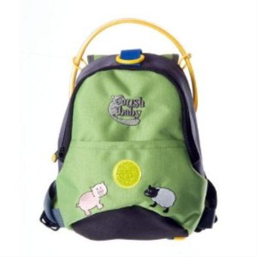 Bushbaby Backpack Reins Green